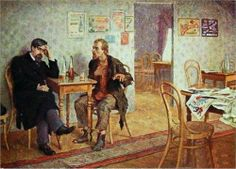 School Friends - Nikolay Bogdanov-Belsky, 176/203.