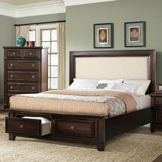 Found it at Wayfair - Harwich Upholstered Headboard