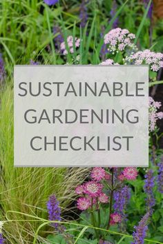 Want to make your garden more eco-friendly? This sustainable gardening guide has lots of easy environmentally friendly gardening tips for greener gardening. Eco Garden, Natural Garden, Garden Soil, Green Garden, Garden Beds, Garden Plants, Gardening For Beginners, Gardening Tips, Hydrangea Care