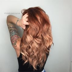 Makeover: Platinum To Dimensional Copper - Career - Modern Salon Fall Red Hair, Fall Hair Colors, Red Hair Color, Red Hair For Summer, Pretty Hair Color, Toner For Blonde Hair, Perfect Blonde Hair, Red To Blonde Hair, Strawberry Blonde Hair