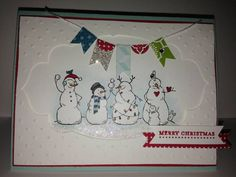 Frosty Friends by terrial - Cards and Paper Crafts at Splitcoaststampers