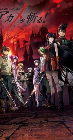 Since Akame ga Kill was a big hit, many fans (including me) are asking for more. I had the pleasure of scavenging for more anime like Akame ga Kill, so you can have all the action and thrill you need. Manga Anime, Oc Manga, Akame Ga Kill, I Love Anime, Me Me Me Anime, News Anime, Accel World, Anime Watch, Film D'animation