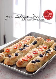 Jim Lahey's Stecca - No work / No knead Baguettes