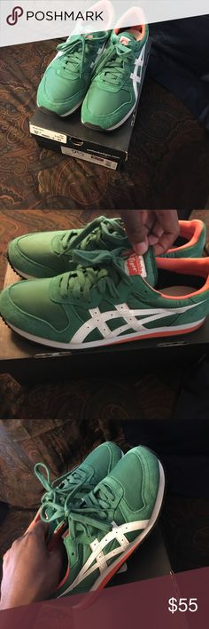Onitsuka Tigers Sneakers Only Worn Once! Onitsuka Tiger Shoes Sneakers