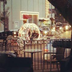 KC Plaza Lighting up ala Cinderella.