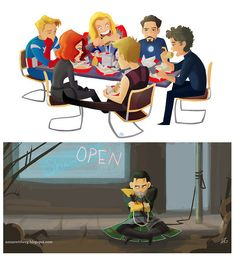 No shawarma for  Loki... Now wouldn't this Loki part be a good bit to add to the ending of the film hahaa!