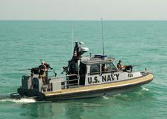 US coastal patrol boat