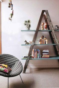 Vintage Ladder Decorations