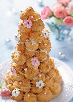 french wedding tradition croquembouche
