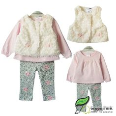 Starting Out Baby Girls Newborn 6 Months Bunny And Bird 7 Piece