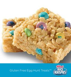 An easy way for kids to give your Rice Krispies Treats™ an easy Easter touch – just add M&M's in springtime colors!