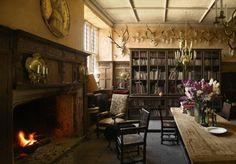 antique book decor   antique, books, castle, decor, england - inspiring picture on Favim ...