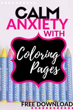 Coloring is more than art, it's therapy. These free coloring pages are perfect for you if you are looking for anti stress, anxiety or mental health ideas.