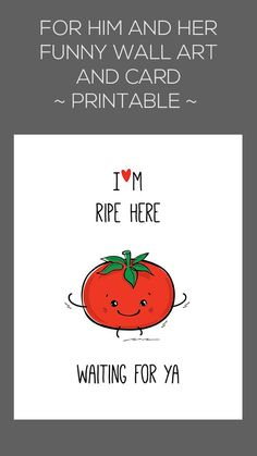 Funny food pun quotes, print larger file sizes for wall art, print the smaller file sizes to create gift cards just for your boyfriend or girlfriend! Perfect to celebrate Valentines Day, birthday or anniversary :)