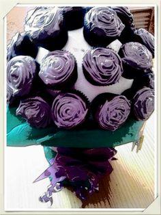 Ramo de minis cupcakes