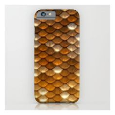 Gold glitter mermaid sparkling scales iPhone iPod Case ($35) ❤ liked on Polyvore featuring accessories and tech accessories
