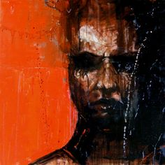Guy Denning is a self taught English contemporary artist and painter based in France. He is also one of the most important painters on the Urban Art scene. Abstract Portrait, Portrait Art, Redhead Art, Painting People, Summer Art, Urban Art, Digital Illustration, Light In The Dark, Cool Art