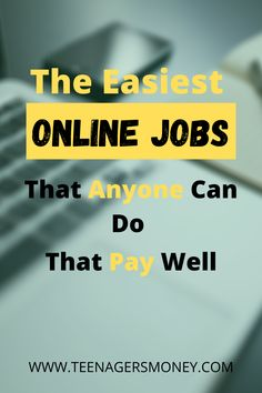 Online Jobs: When you find a job that lets you work from home, you've got it made in the shade. Having an online job is by far the best way to go, because you get to set your own rules and prices. Click here to read about the best online jobs that you can do to work from home.   #onlinejobs #workingfromhome #onlinebusinesses #jobstodoathome #workingfromhomeideas #onlinemoneymakingideas #moneymakingideas Earn More Money, Make Money Fast, Make Money Blogging, Make Money From Home, Make Money Online, Easy Online Jobs, Legit Work From Home, Online Income, Starting Your Own Business