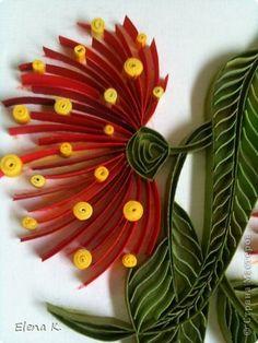 Flower. Quilling. Elena K.