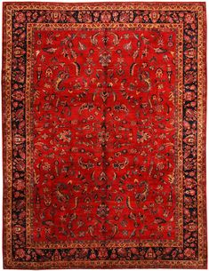 Antique Sarouq Persian rug 320×420 cm.