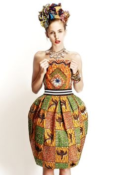 Stella Jean S/S 2012 African Inspired Collection