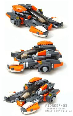 Hover Tank [Last one of these types of builds, forgot to load it. Finally got these outta my system]