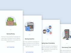 Onboarding inspiration for mobile apps