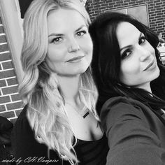 Otp, Robin And Regina, Ouat Cast, Queen Love, Swan Queen, Regina Mills, Girl Couple, Outlaw Queen, Jennifer Morrison