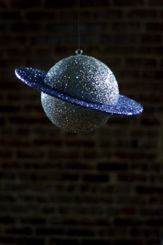 DIY Glitter Saturn - A Little Craft In Your Day