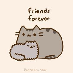 cat friends cartoon - Google Search