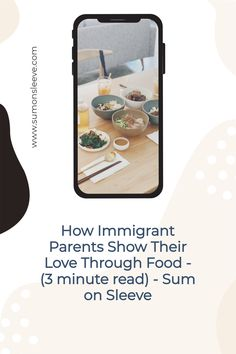 How Immigrant Parents Show Their Love Through Food - (3 minute read) - Sum on Sleeve Asian Dad, Asian Parents, Asian Problems, Canadian Culture, Say I Love You, Raising, Truths, Growing Up, Childhood