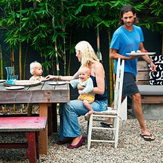 Backyard makeover creates space to dine, gather, and play