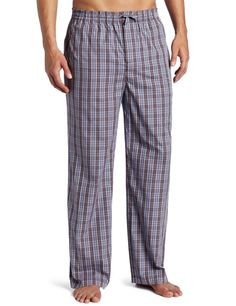 HUGO BOSS Men's Sleepwear Woven Check Sleep Pant « Clothing Impulse Pajama Pants Pattern, Mens Sleepwear, Barefoot Men, Sleep Pants, Hugo Boss Man, Poplin, Nordstrom, Menswear, Plaid