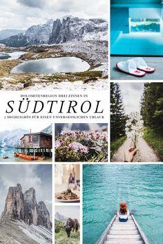 7 Highlights für einen Urlaub in der Dolomitenregion Drei Zinnen in Südtirol. Die schönsten Wanderungen, Restaurants und Seen in der Region. Alle Highlights auf lilies-diary.com