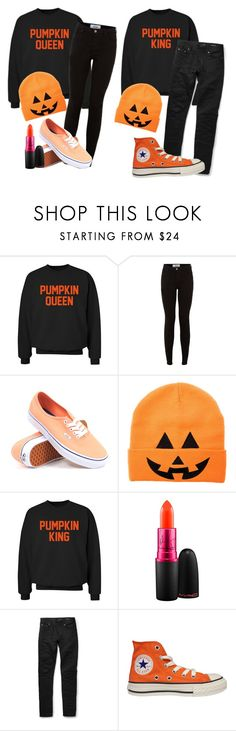 """""""Untitled #299"""" by ticci-toby ❤ liked on Polyvore featuring CO, New Look, Vans, MAC Cosmetics, Yves Saint Laurent and Converse"""