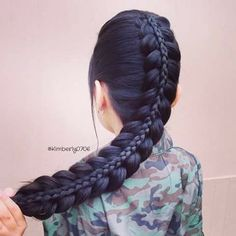 Fell in love with warrior braids yet confused? Take a look at these 12 warrior braid hairstyles for women & embrace your powerful persona right away. Pretty Hairstyles, Girl Hairstyles, Braided Hairstyles, Blonde Haircuts, Teenage Hairstyles, Wedding Hairstyles, Curly Hair Styles, Natural Hair Styles, Warrior Braid