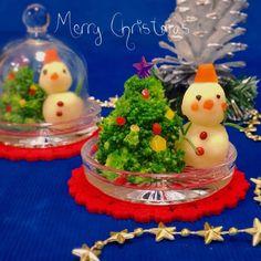 ツリー&リースが華やか♡ 簡単に作れる「クリスマスサラダ」レシピ - LOCARI(ロカリ) Cute Bento, Vegetable Carving, Party Dishes, Sushi Recipes, Beautiful Christmas, Christmas Cookies, Kids Meals, Food And Drink, Appetizers