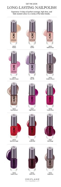The One Nail Polish by Oriflame