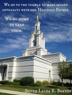 Love this quote by Sister Burton at the General Relief Society Broadcast. (Picture of the Columbia River, WA temple.)