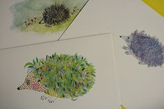 1000+ images about Hedgehogs-Inspiration-Printables-Crafts ...