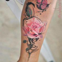 Les délicats tatouages aquarelles de Aleksandra Katsan 2Tout2Rien