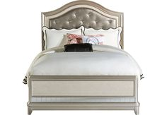 Sofia Vergara Petit Paris Champagne 3 Pc Full Panel Bed  from  Furniture