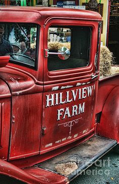 Old Hillview Farms Truck. www.rharrisphotos.com