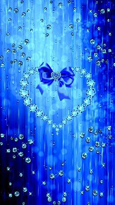 By Artist Unknown. Heart Iphone Wallpaper, Bling Wallpaper, Flower Background Wallpaper, Scenery Wallpaper, Love Wallpaper, Cellphone Wallpaper, Cartoon Wallpaper, Wallpaper Backgrounds, Pretty Backgrounds
