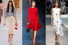 On the Dot - Spring 2014 Style Trends from Fashion Week - Harper's BAZAAR