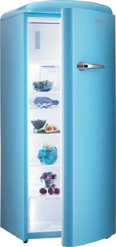 Gorenje RB 60299 OBL Kühlschrank / A++ / 152 cm Höhe / 196 kWh/Jahr / 255 L Kühlteil / 26 L Gefrierteil / DynamicCooling-System / blau