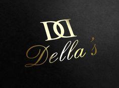 Gold Logo Design. Embossed gold on black? Or opposite?
