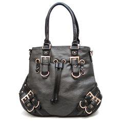 Handbagmadness - Designer Inspired Handbag X818GREY, $19.99…