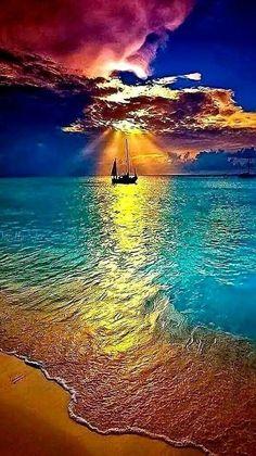 Beautiful Nature Wallpaper, Beautiful Sunset, Beautiful Beaches, Beautiful Landscapes, Beautiful Images, Sunset Photography, Landscape Photography, Foto Picture, Beach Wallpaper