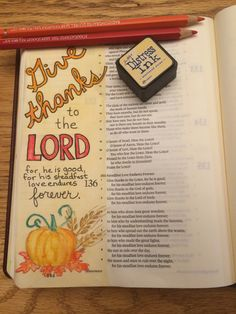 I snuck in just a little time for Bible journaling between baking a pecan pie and spending time with my whole family gathered together at Gramma's. The kids are sleeping and happy. Feeling very g...